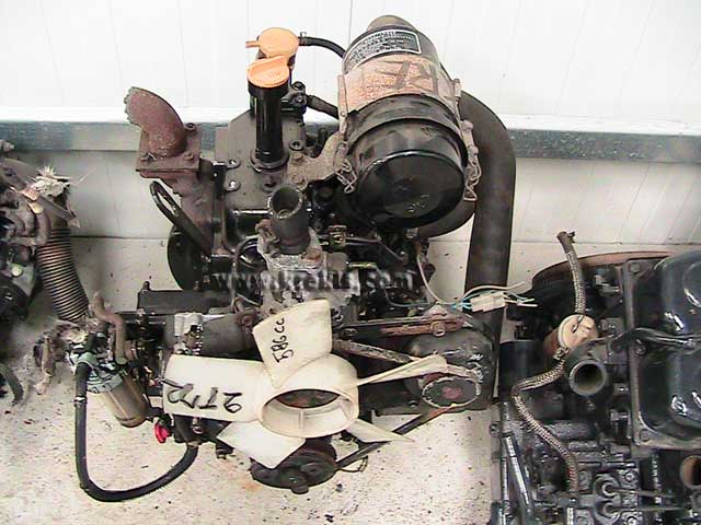 Used Diesel Engine YANMAR 2T72