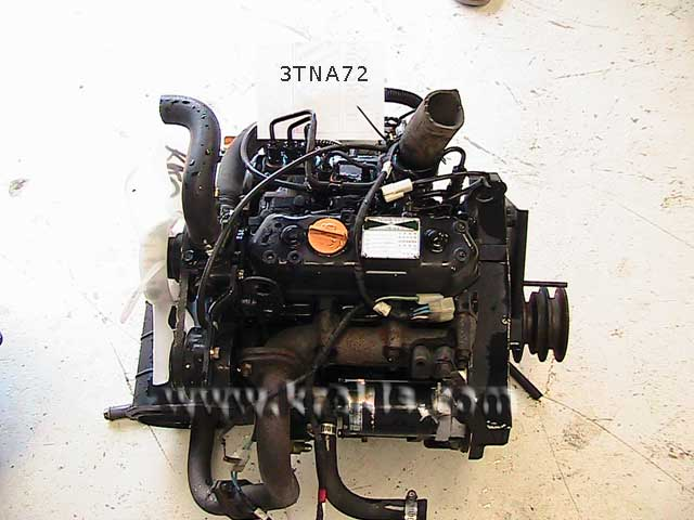 Used Diesel Engine YANMAR 3TNA72