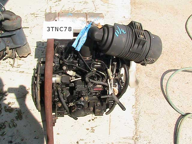 Used Diesel Engine YANMAR 3TNC78