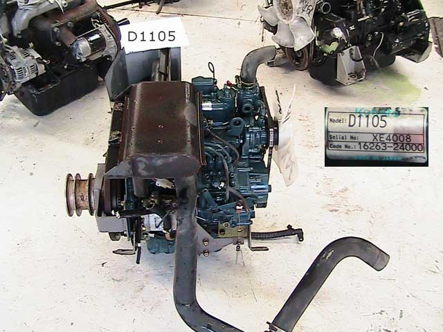 Used Diesel Engine KUBOTA D1105