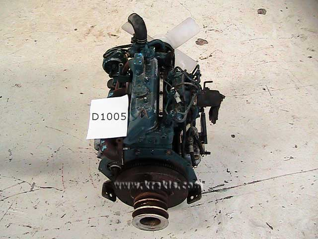 Used Diesel Engine KUBOTA D1005
