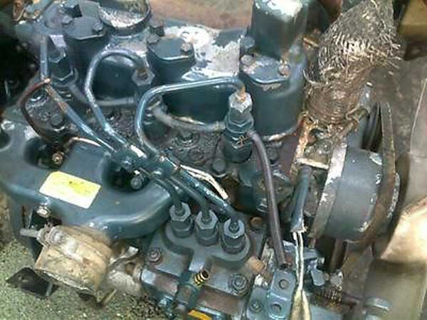 Used Diesel Engine KUBOTA D750