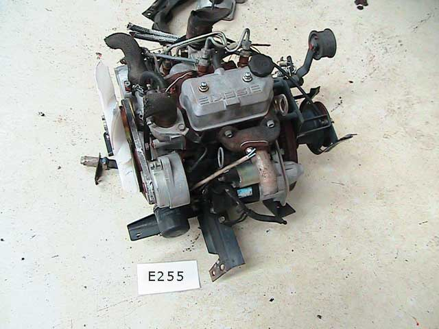 Used Diesel Engine ISEKI E255