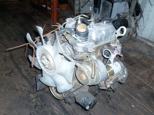 Used Diesel Engine ISEKI E269