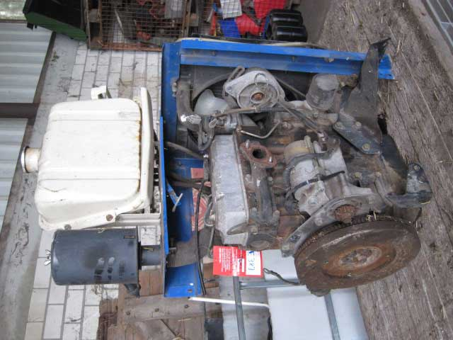 Used Diesel Engine ISEKI E383