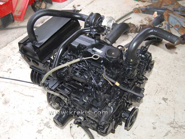 Used Diesel Engine MITSUBISHI S3L TURBO