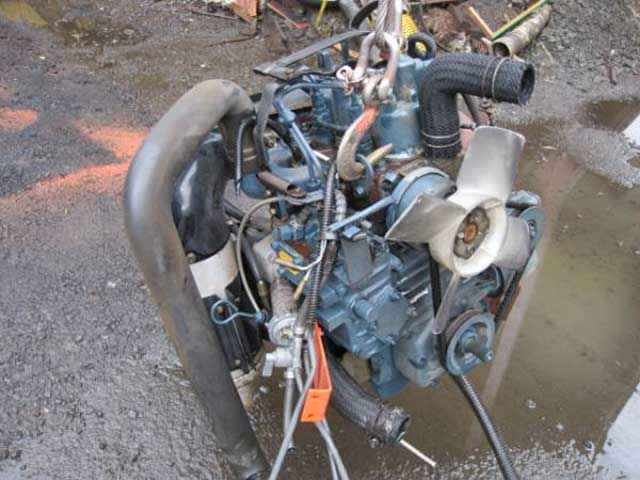 Used Diesel Engine KUBOTA Z600